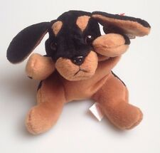 f990b364ab8 Collectable Retired TY Beanie Baby DOBY THE DOBERMAN DOG 9 October 1996  with tag