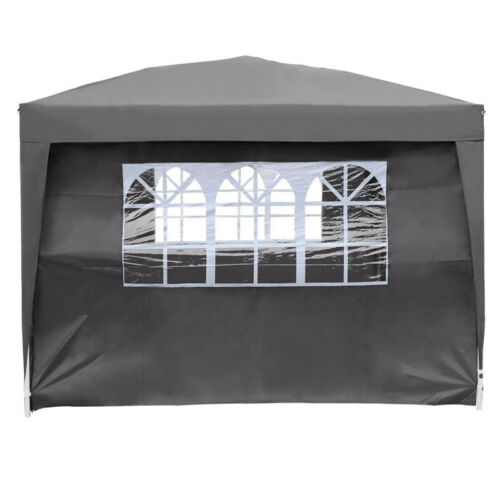 2.5x2.5 Meter Square Garden Pop Up Gazebo Rain Sunshine Party Wedding Show Tent