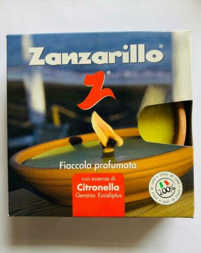 CERERIA ROMANA ZANZARILLO FIACCOLA ALLA CITRONELLA IN TERRACOTTA DIAMETRO 15 CM