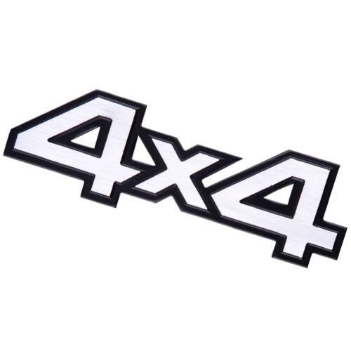 3D Car Metal 4X4 Emblems Decal Badge Sticker 14x4.4x0.5cm For Jeep SUV All car
