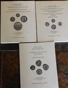 Lot Of 3 Antique Auction Catalogues Antique Munzen Xxxiii Xxxiv Xxxv Ebay