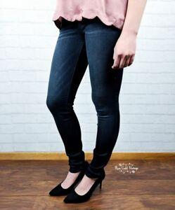 NWT-Rayon-Blend-Dark-Skinny-Jeans-by-Judy-Blue-Sizes-0-or-3-only