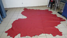 LEDER   Lederhaut   Rot   ca. 5,02 qm    (F26)