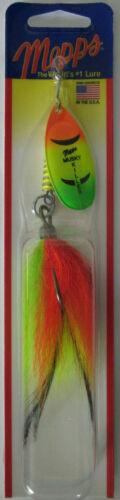 MEPPS MUSKY KILLER 3//4 Oz-Hot Firetiger