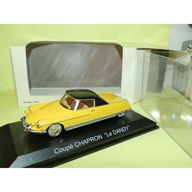 CITROEN DS COUPE CHAPRON LE DANDY yellow NOREV 1 43