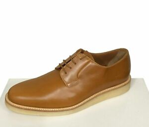 Common-Projects-Men-039-s-Shoes-Size-7-40-Cognac-Brown-Barneys-Derby-Shine-560