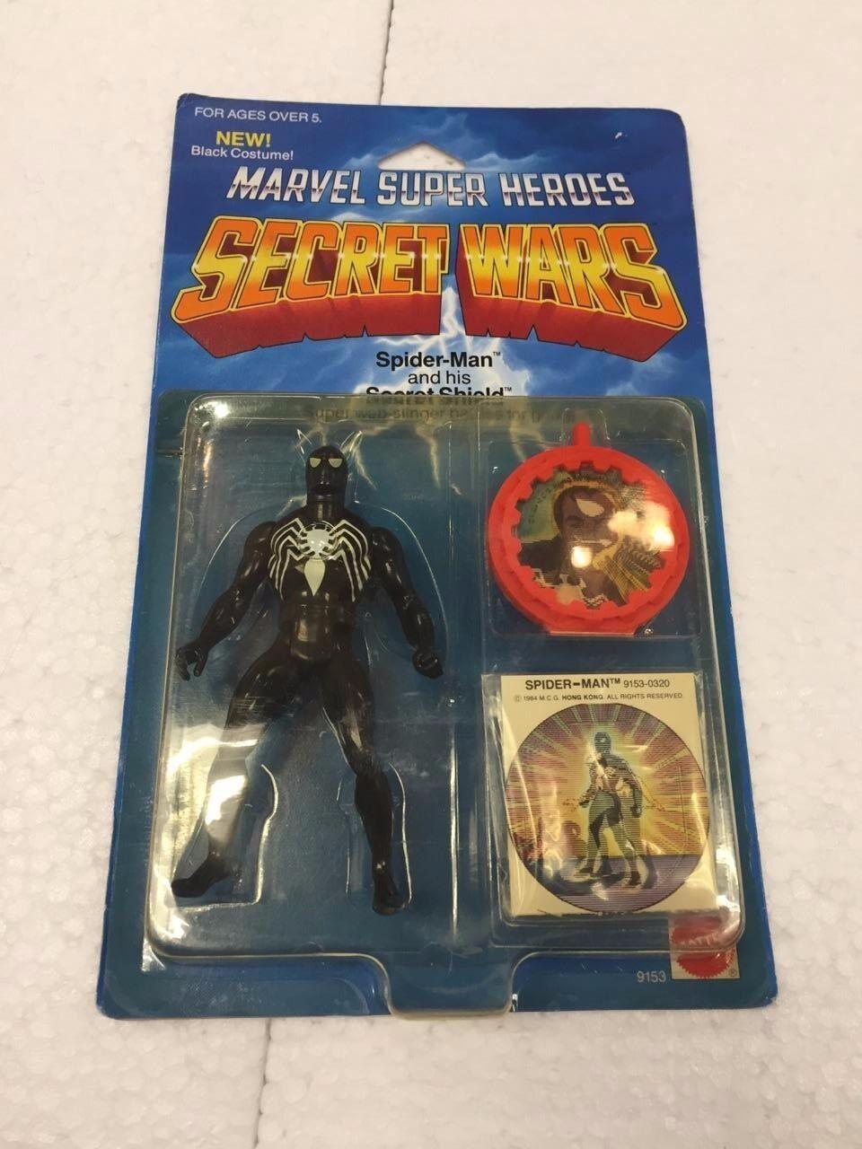1984 Marvel Super Heroes Secret Wars Spider Man and his Secret Shield 1 18