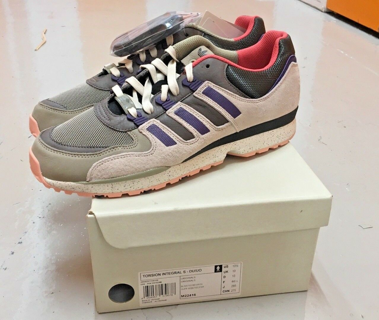 Selten Adidas Torsion Integral S Sneaker Qs Us 10.5 UK 10 Konsortium Fieg