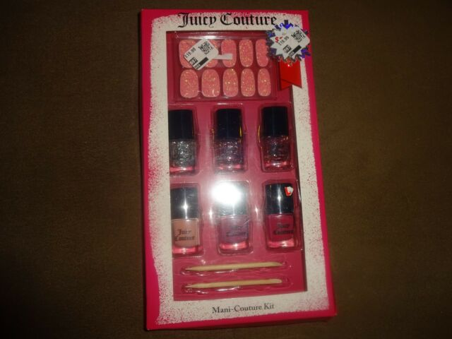 Juicy Couture Mani-couture Kit Nail Polish Collection | eBay