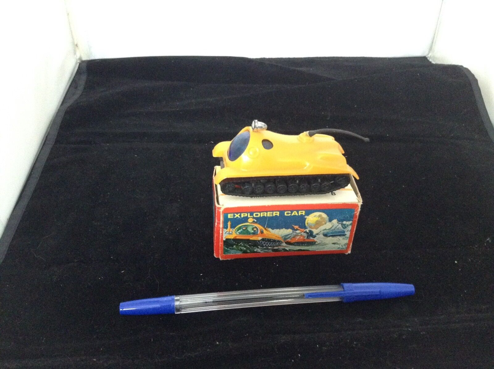 Space Explorer car Friction Toy  Hong Kong 1960s.