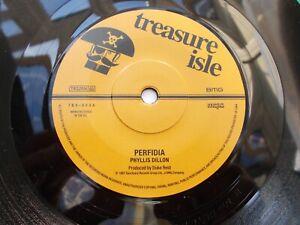 PHYLLIS-DILLON-PERFIDIA-7-039-039-45-ROCKSTEADY-TREASURE-ISLE-REISSUE-LISTEN
