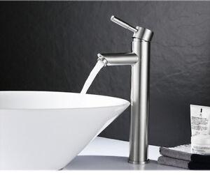Details zu Edelstahl Wasserhahn Waschtisch Waschbecken Mischbatterie Bad  Armatur Einhebel