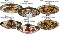 Stained Glass Uplighter With Different Size And Design Collection
