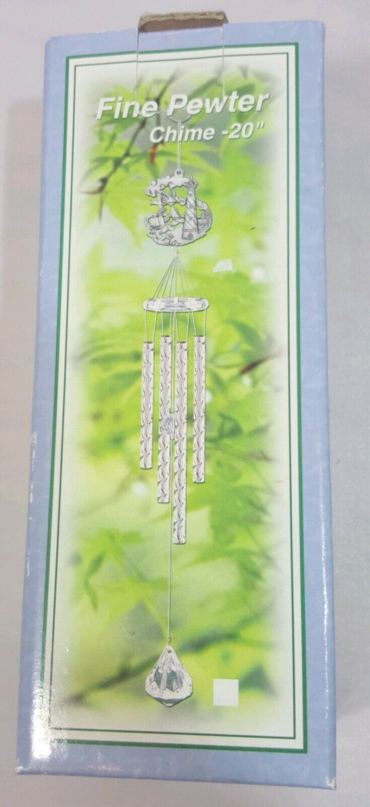 LIGHTHOUSE PEWTER WIND CHIME 20