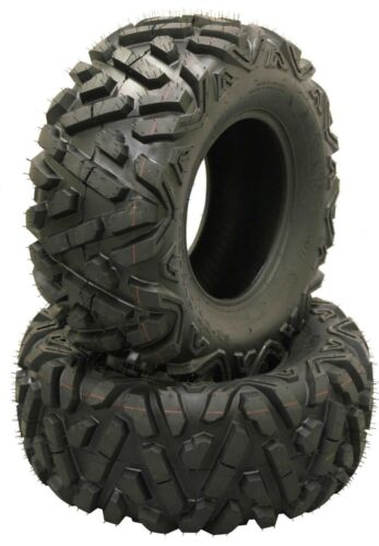 2 New Radial WANDA ATV UTV Tires 27x9R14 All Terrain 27 9 14 6PR Big Horn Style