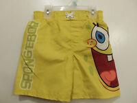 Sponge Bob Square Pants Little Boy Swim Trunks, Bathing Suit, Swim Suit
