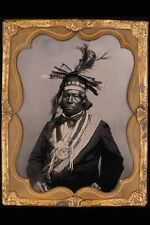 715046 Six Nations Chief Circa 1865 Photographer Unknown C84932 A4 Photo Print