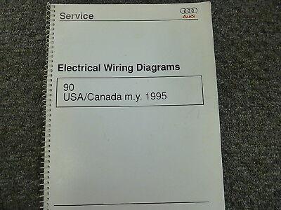 1995 Audi 90 Quattro Sedan Electrical Wiring Diagram Manual Sport 2.8L V6  AWD | eBayeBay