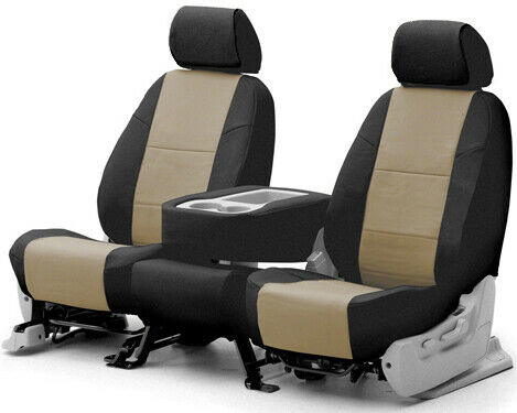 Coverking Synthetic Leather Tailored Seat Covers for Lincoln Navigator