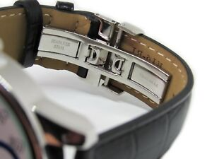 Replacement-Leather-Watch-Band-Strap-Made-For-Tissot-Powermatic-80-Silver-Dial