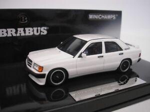 Mercedes Brabus 190e 3.6s 1989 Blanc 1/43 Minichamps 437032602 Neuf