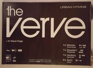 The-Verve-Urban-Hymns-tour-1998-Original-Concert-poster