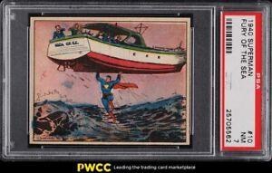1940 Gum, Inc. Superman Fury Of The Sea #10 PSA 7 NRMT