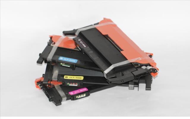 5 x CLT-406S generic toner for Samsung CLP 360 365 365W CLX 3300 3305FN 3305FW