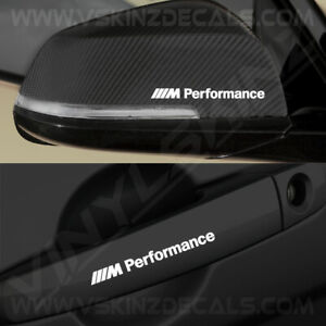 4x-BMW-M-Performance-Premium-Quality-Door-Handle-Mirror-Decals-Stickers-Alpina