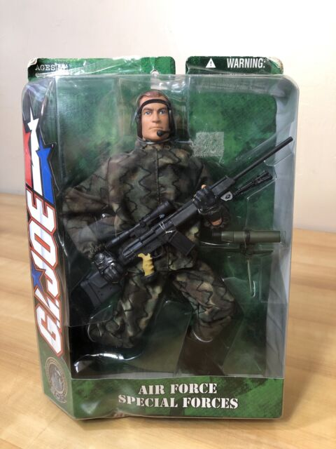 12 GI JOE AIR FORCE SPECIAL FORCES 1/6 81921 ACTION