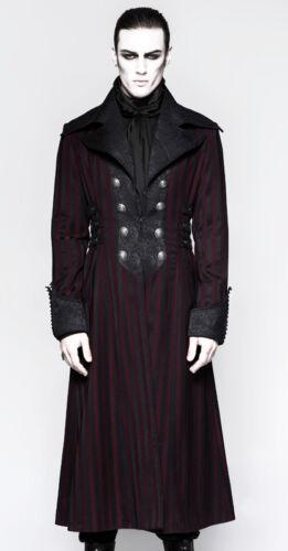 Cappotto Dandy vittoriano Men barocco Satin gotico Brocade R Punkrave Striped qR4qPnO