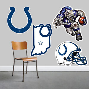 Indianapolis Colts Wall Art 4 Piece Set Large Size------New in Box------