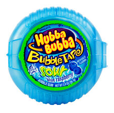 Sour Blue Raspberry Hubba Bubba Bubble Tape