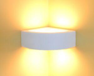 Céramique applique murale lampe d angle à peindre lumière