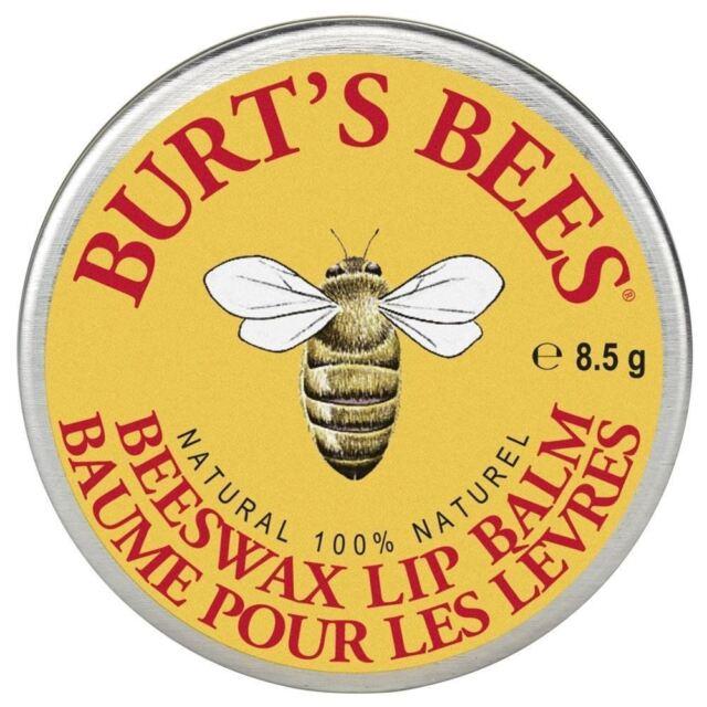 Burts Bees Beeswax lip balm tin .30 oz