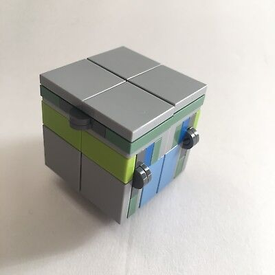 Blue Pieces to Make Your Own Folding Lego Infinity Cube Fidget Toy Puzzle New