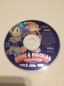 Details about Sonic the Hedgehog and Knuckles Collection SEGA PC Disc Only  Free Shipping
