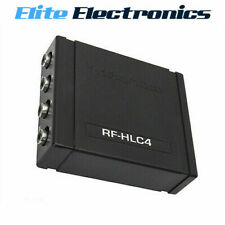 ROCKFORD FOSGATE RF-HLC4 4 CHANNEL HIGH-TO-LOW LEVEL SIGNAL CONVERTER RCA OUTPUT