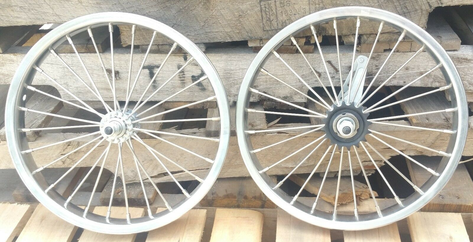 16 inch Front Rear Heavy Duty bicycle wheelset 10g spokes Coaster Brake 16x2.125