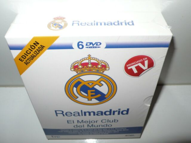 real madrid - 6 dvds - el mejor club del mundo