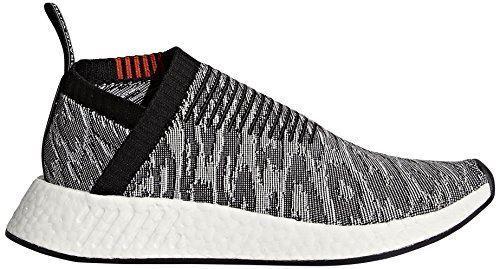 adidas Originals Men's NMD_CS2 PK Sneaker, Black/Black/Future Harvest, 11 M US