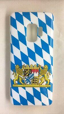 Samsung Galaxy S9 Silikon Hülle Bayerische Fahne mit ...