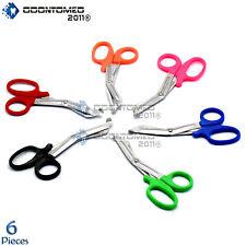 6 Pc Nurse Paramedic Emt Trauma Shears Scissors Utility Medical Scissors 55