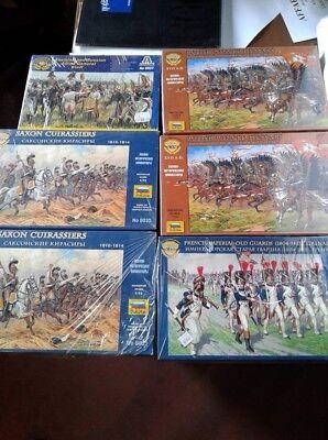 Amabile Lotto Box Soldatini 5 Zvezda + 1 Italeri 1/72 Napoleonici Qualità Eccellente