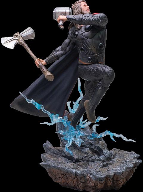Marvel Avengers: Endgame Thor statue Bds Art Scale 1:10 By Iron Studios - on eBay thumbnail