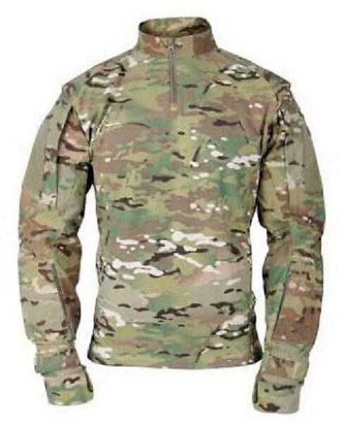 US OCP ARMY MILITARY Multicam OCP PROPPER Tactical Uniform Combat Shirt Hemd XLL