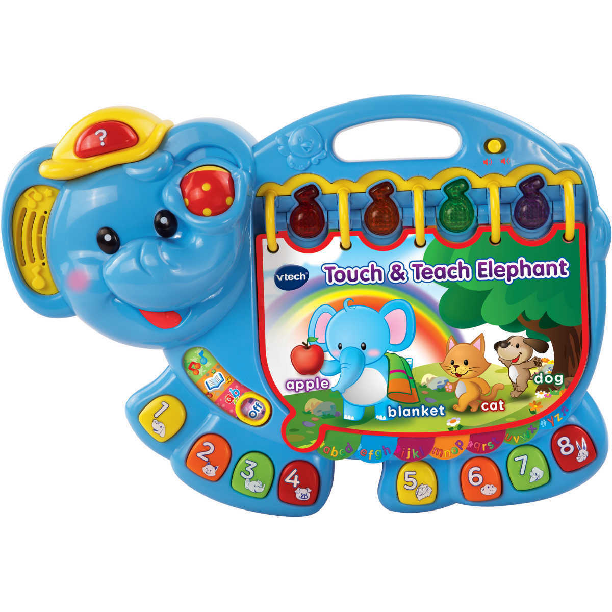 VTech Baby Baby Baby Touch & Teach Elephant First Learning Toy 150+ Songs Birthday Gift 29b96c