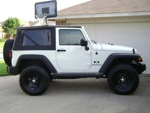 Image Is Loading 2007 2009 Jeep Wrangler 2 Door Replacement Soft