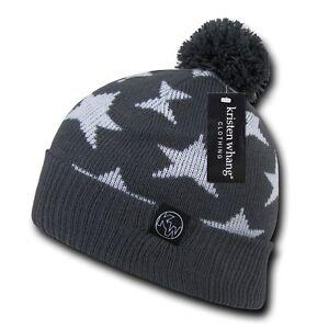 66ef671a03ef3c 1 Dozen Kristen Whang New York Cuffed Uncuffed Beanies Caps Hats Cap ...