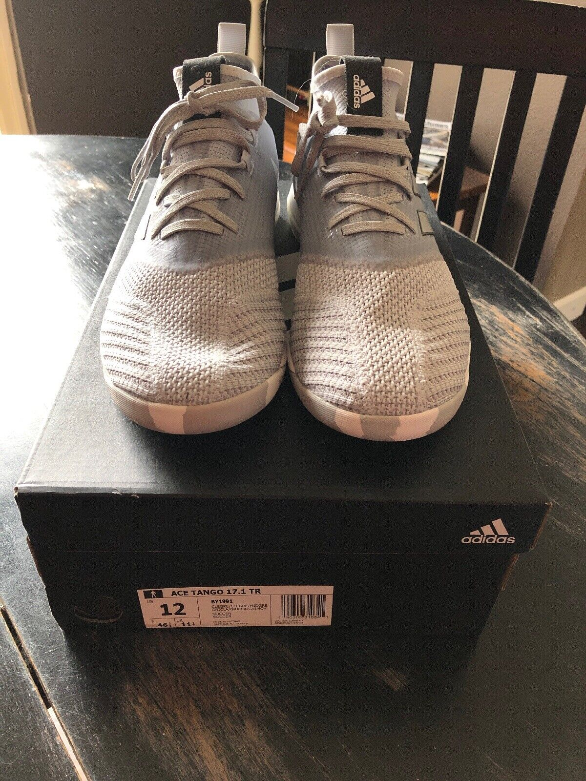Adidas Ace Tango 17.1 TR Indoor Soccer W  BOOST Size 12 US New w  Box